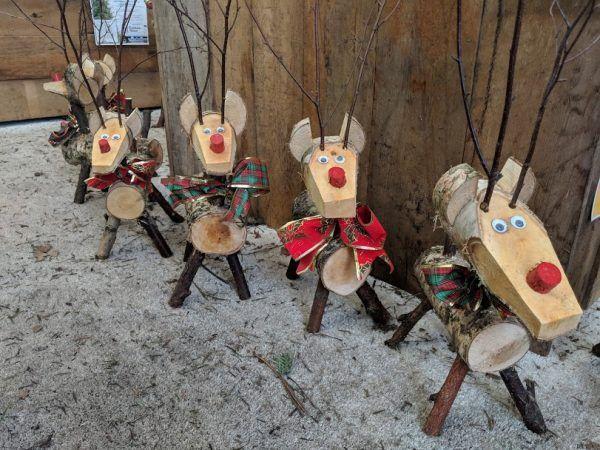Wooden Reindeer Small